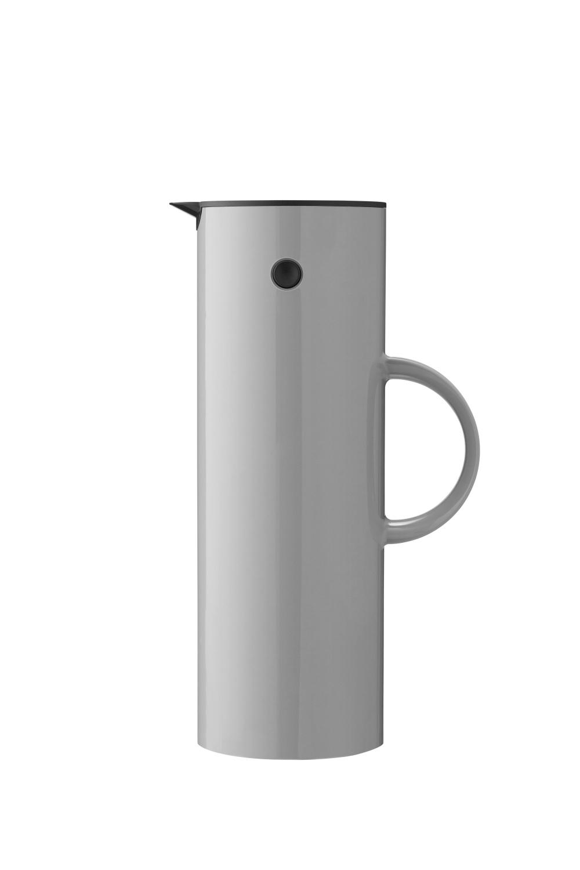 Stelton EM77 Isolierkanne 1L Light Grey
