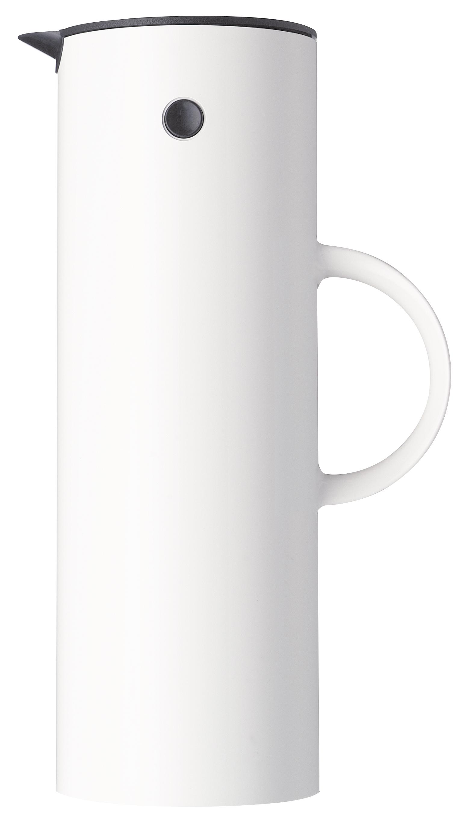 Stelton EM77 Isolierkanne 1L White